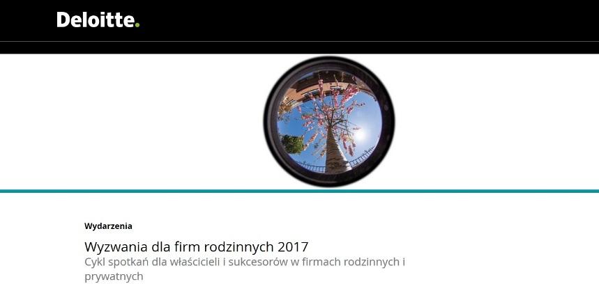 Konferencja Wyzwania dla firm rodzinnych 2017 Łódź