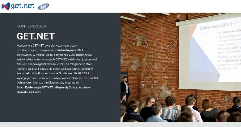 Konferencja Get.Net 2017 Łódź